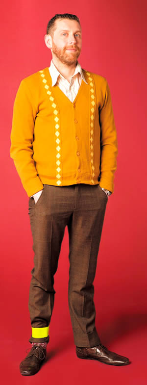 Dave Gorman on his 'Sit Down, Pedal, Pedal, Stop And Stand Up' Tour