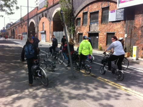 A few of us on a Manchester 'Infrastructure Safari'