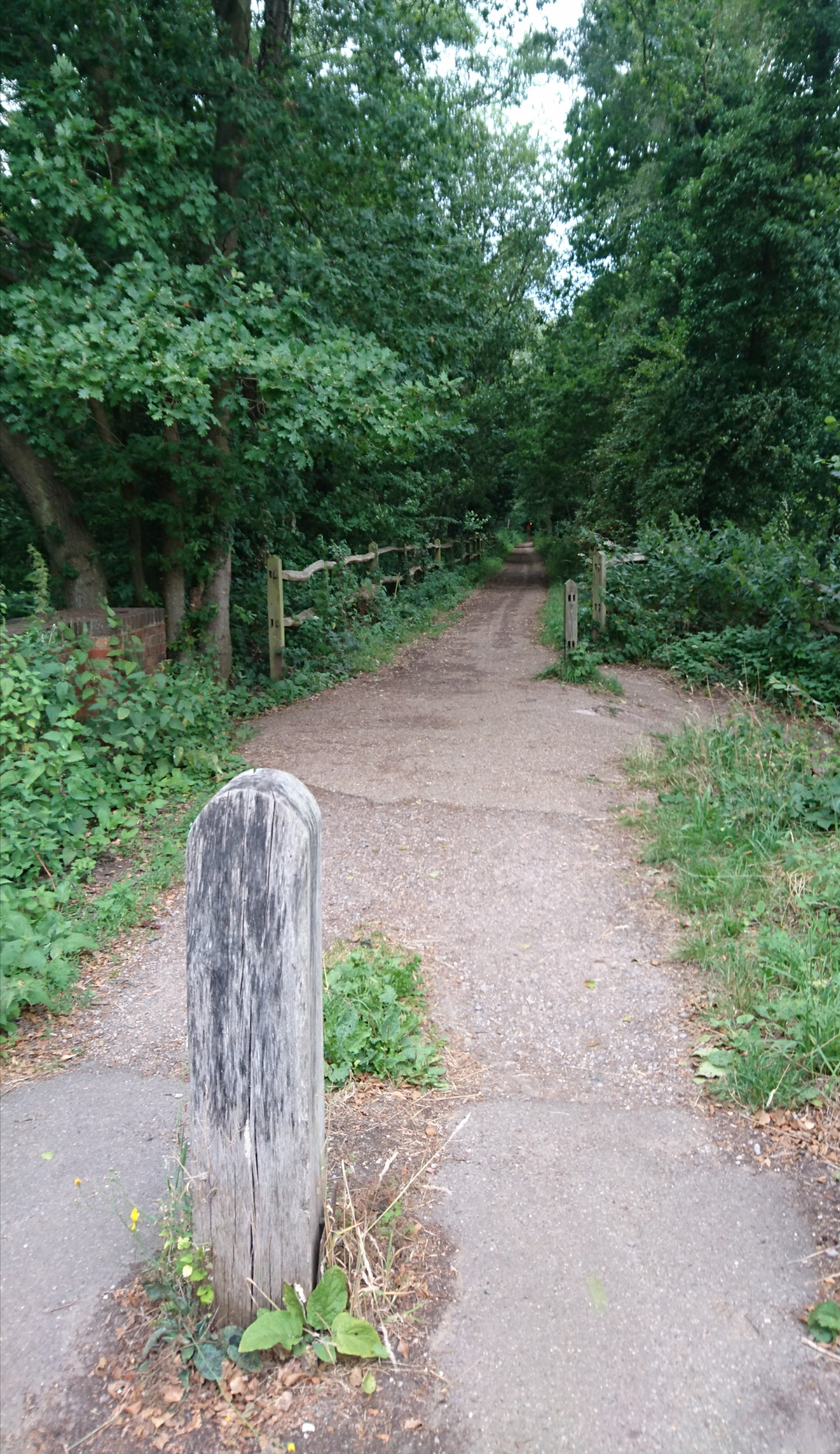 The Path Follows The Course Of Two Dismantled Railways, Both Of Which  Closed In The 1960's As A Result Of The Beeching Axe As The Canals  Capitulated To The